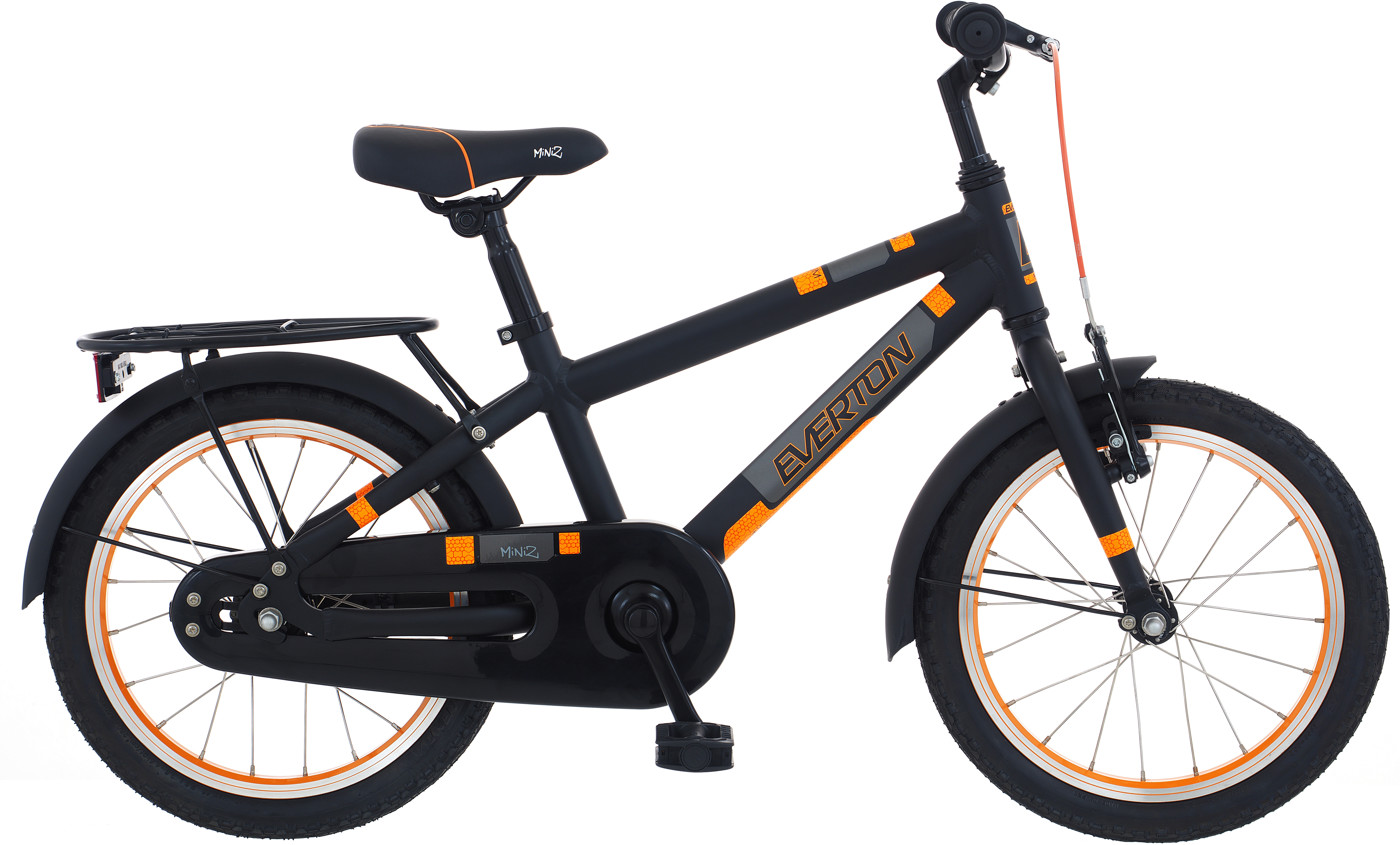 Everton Miniz Drum Soft Black w/orange 2017  Citybike