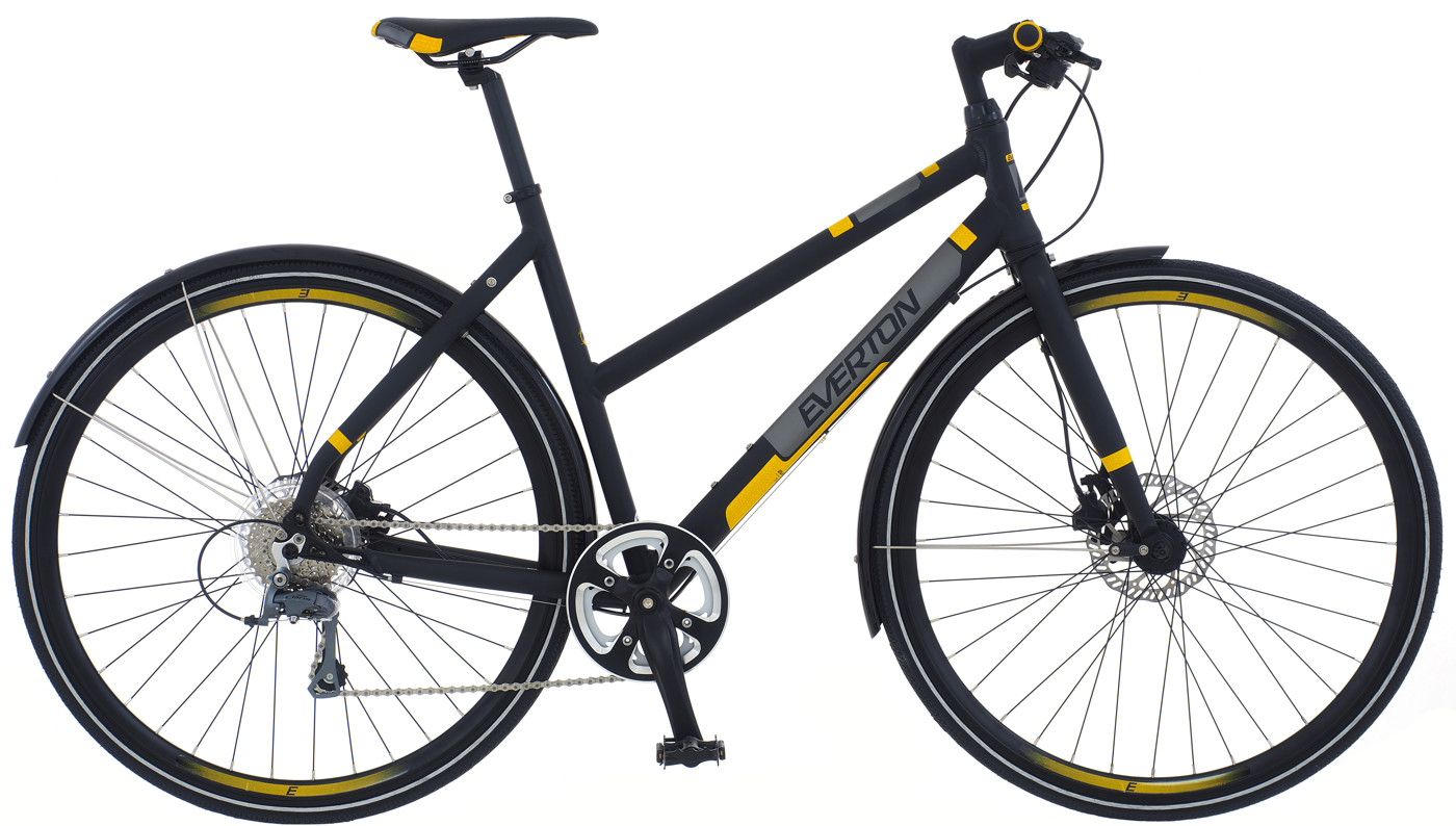 Everton Techno DB Soft Black w/yellow 2017  Citybike