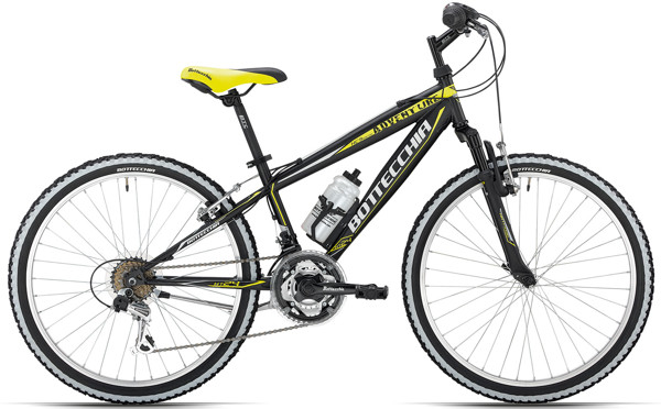 Bottecchia 24 MTB 18 speed Black 2017