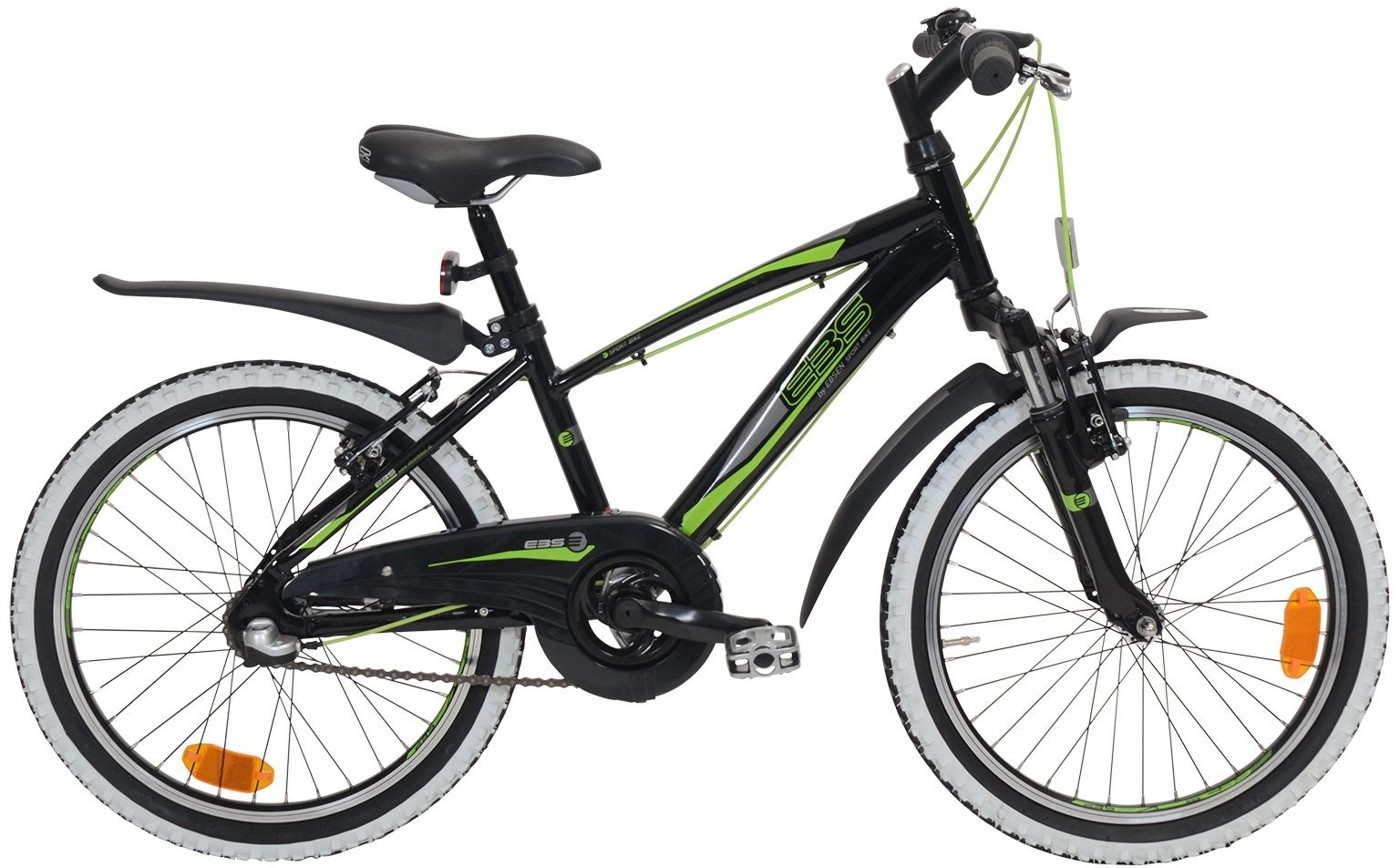 Ebsen 20 Boy Sporty 3 speed Arrant Black 2017  Citybike
