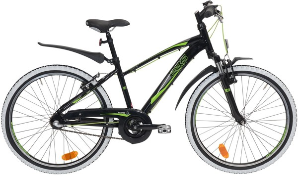 Ebsen 24 Boy Sporty 3 speed Arrant Black 2017