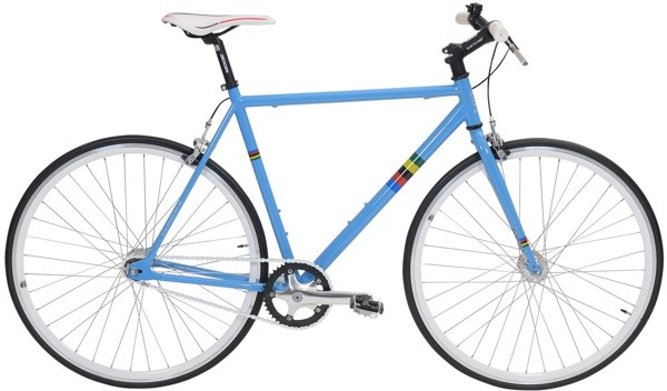 EBS Fixie Basic Single speed CB Light Blue 2017
