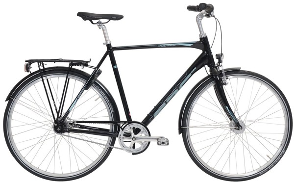 EBS Street Trend Pro 7 speed Arrant Black 2017