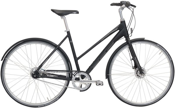 EBS Street Vision 7 speed Arrant Black Matt 2017