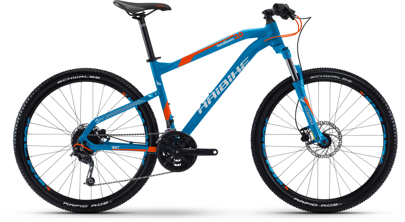 Haibike Seet Hardseven 30 Blue 2017 All mountain Mountainbike