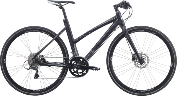 Centurion Zero Dame 16sp Hydr. disc 20.5in Mat sort hvid 2018