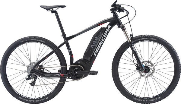 Principia Evade E 8.9 MTB Center display Sram 8sp Hydr. 17in Matsort I. bat 2018