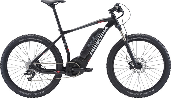 Principia Evade E 8.7 MTB Center display Sram 8sp Hydr. 17in Matsort I. bat 2018