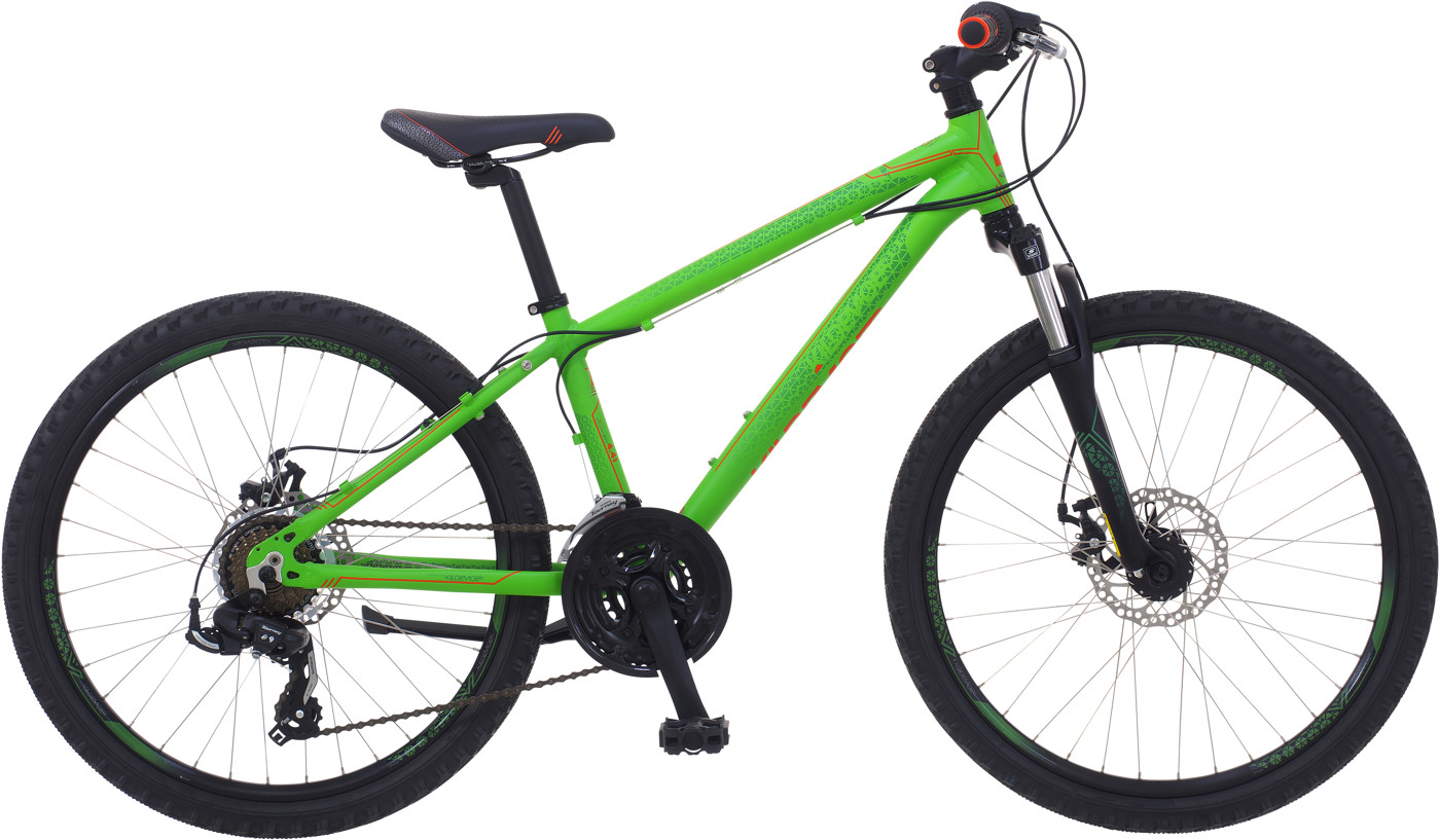 Kildemoes Intruder MTB Dreng alu 21 gear Green Matt 2018  Mountainbike