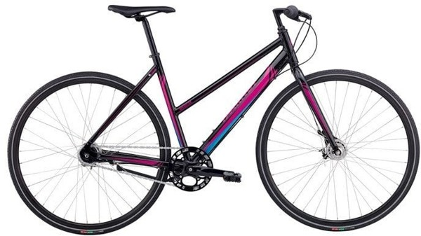 Taarnby Sport Lady 02 50 cm 7sp Shimano coaster Mat purple black/Red-white 2016