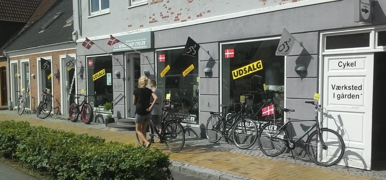 Middelfart Cykler - Odensevej 7 - 5500